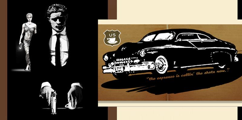 Espresso Detective Logo